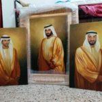 Modern oil portrait painting on canvas in Dubai UAE