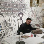 Modern calligrapher and oil painting artist in Dubai UAE