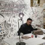 Modern calligrapher and oil painting artist in Dubai UAE