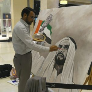Oil painting on canvas uses in dubai UAE