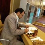 Oil painting and calligraphy artist in dubai