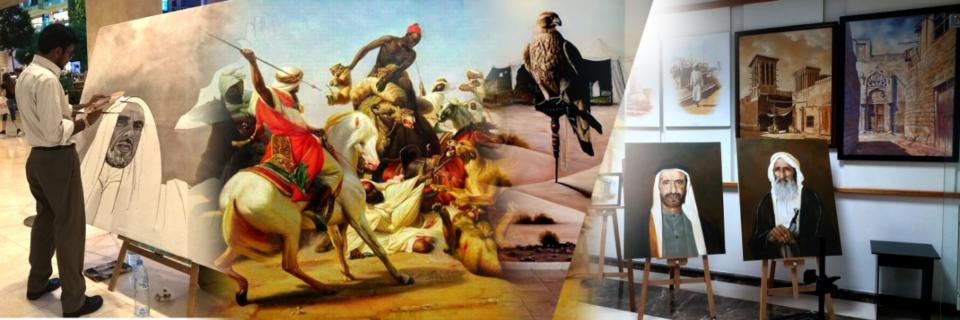 Modern Oil Painting Art in Dubai UAE